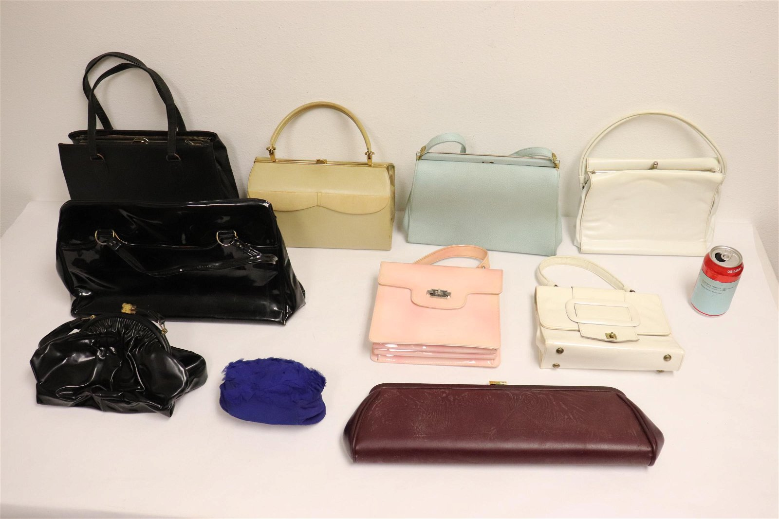 10 vintage handbags