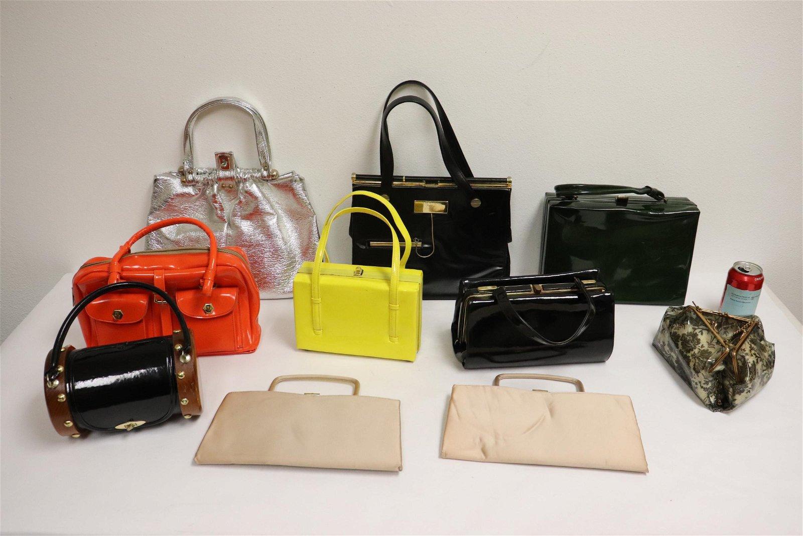 10 vintage evening purses/bags