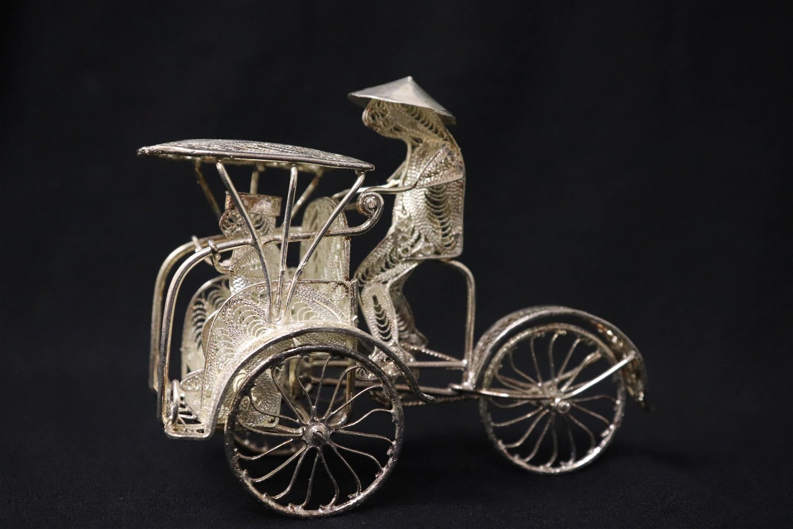 A silver like ornament