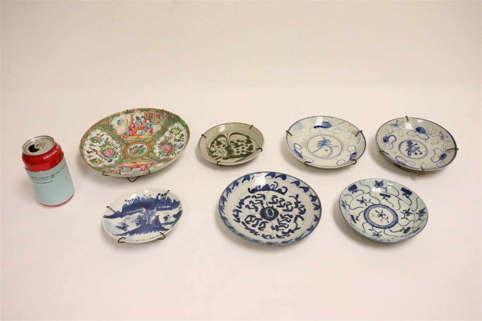 8 Chinese antique porcelain plates