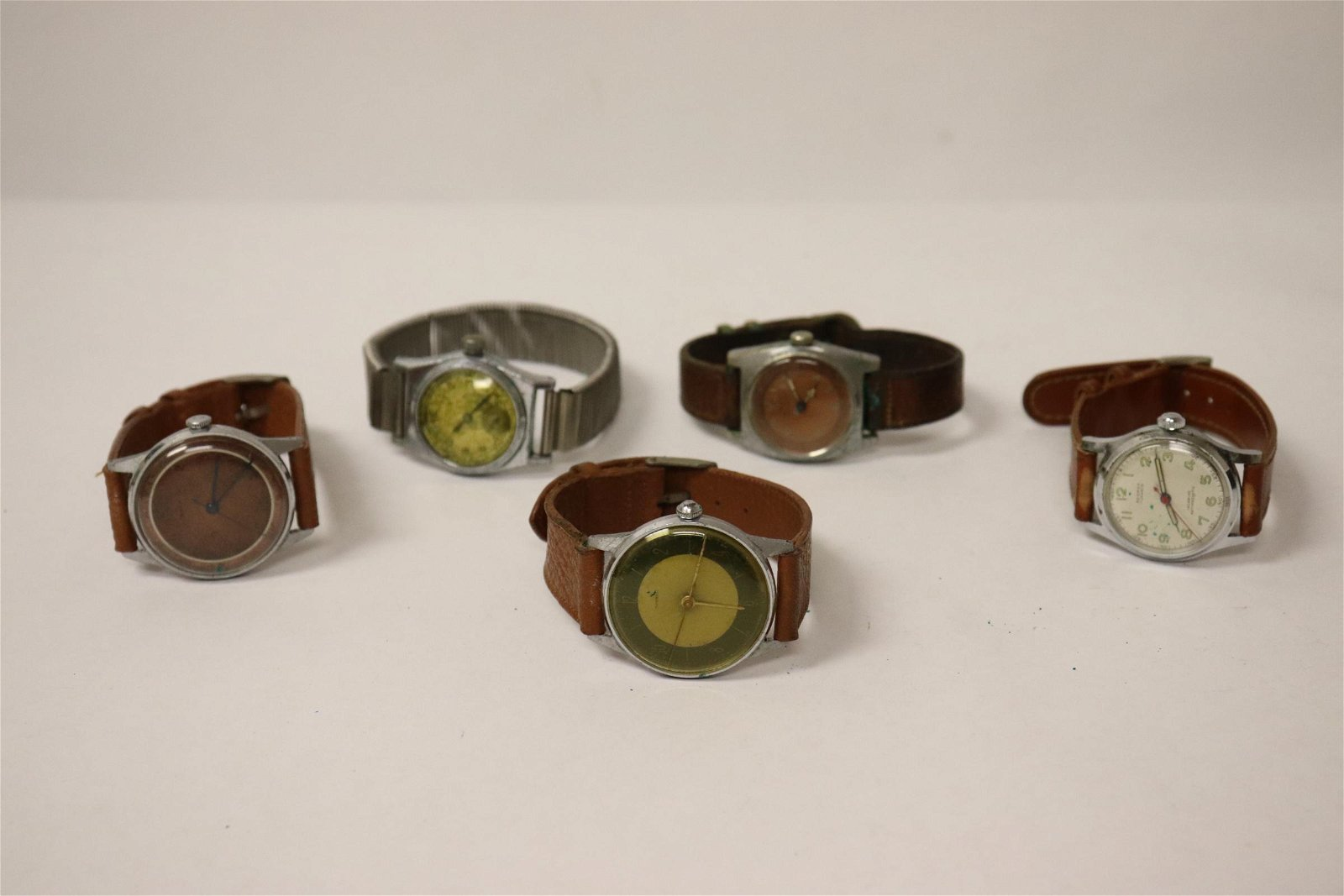 5 vintage watches