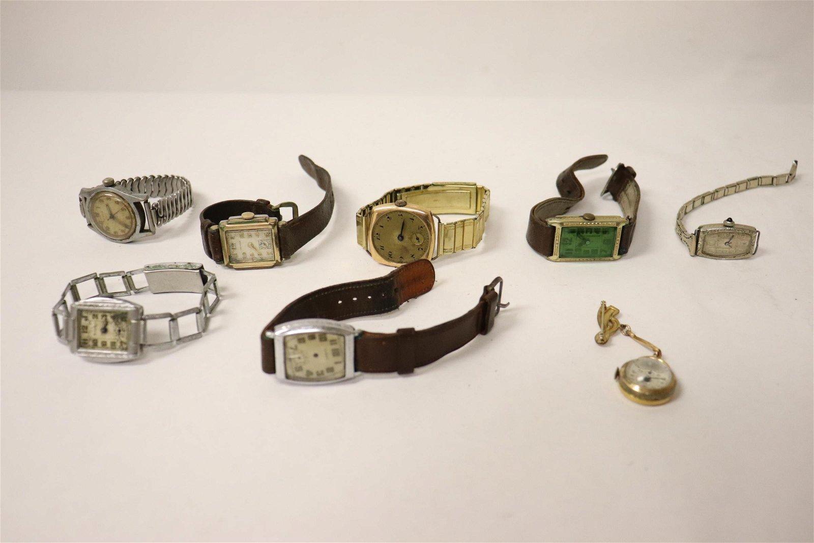 8 vintage watches