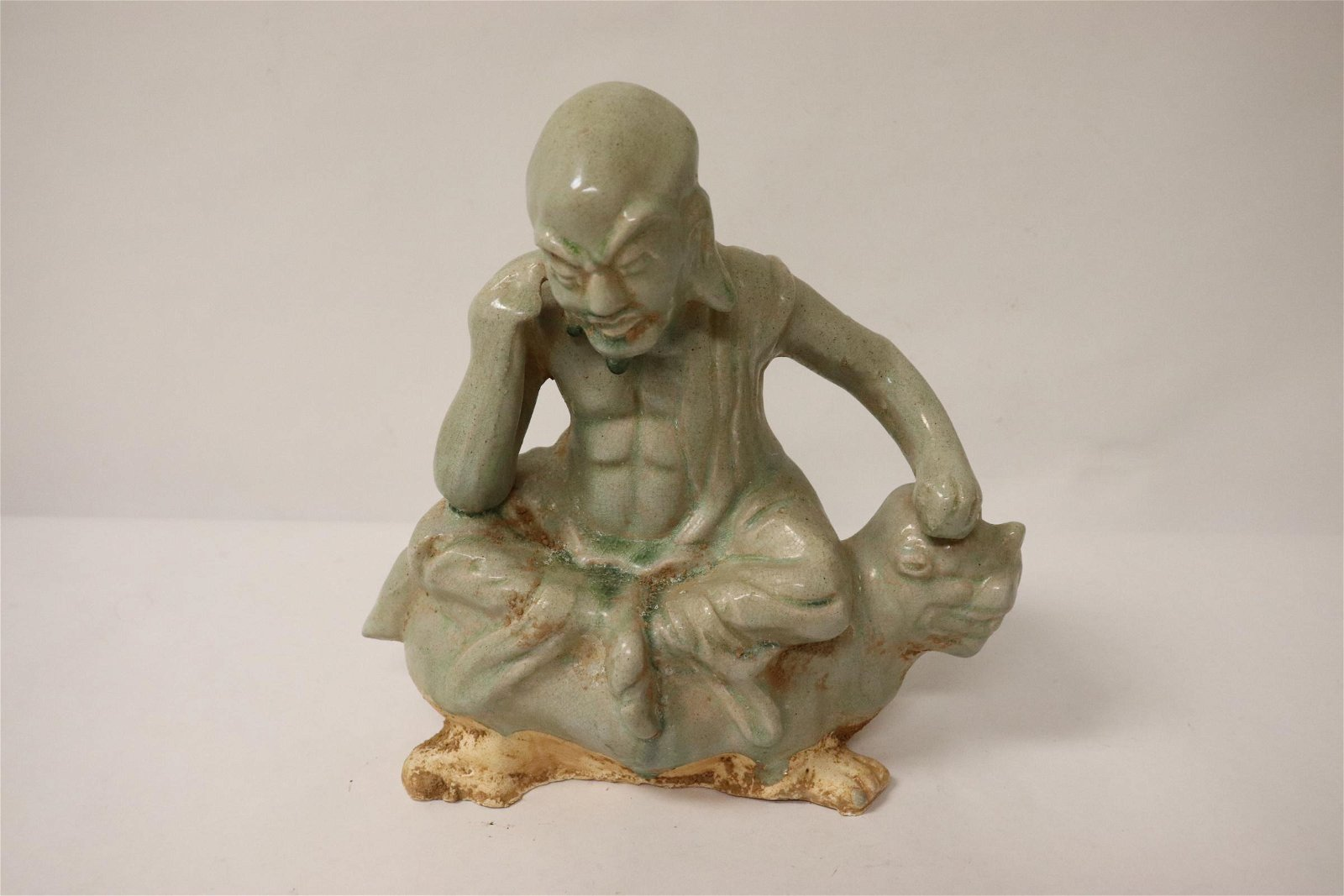 Song style porcelain sculpture of Lohan