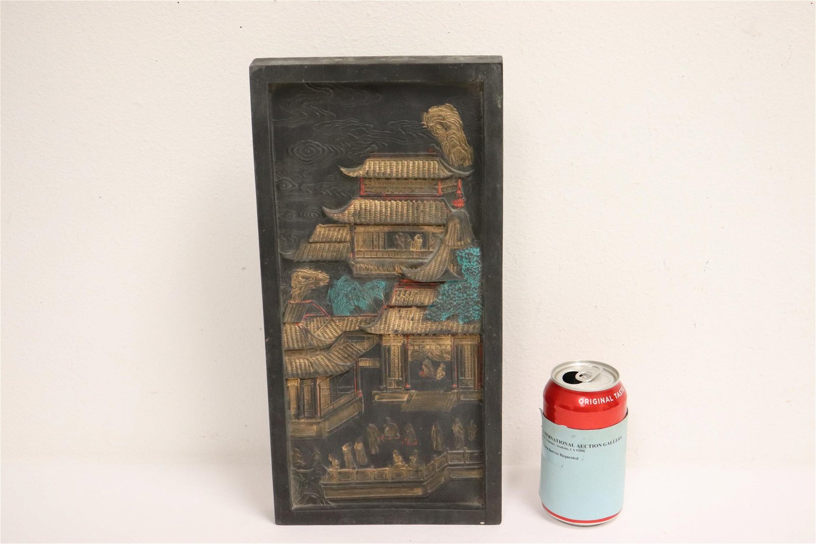 A massive Chinese ink/inkwell