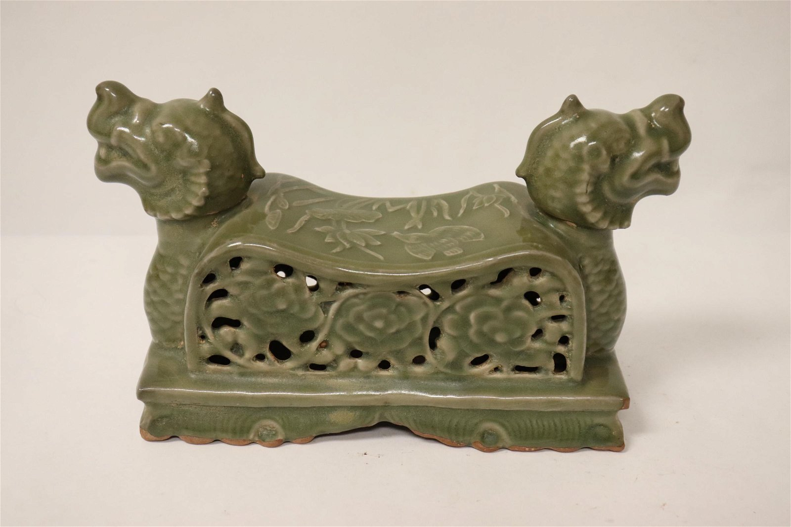 Chinese Song style celadon pillow