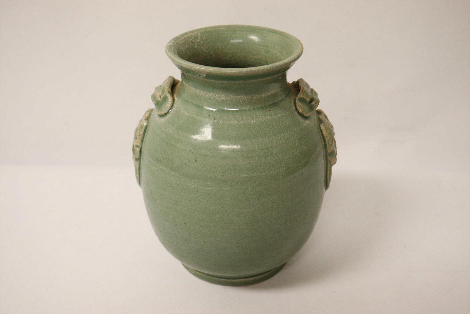 A Song style celadon jar