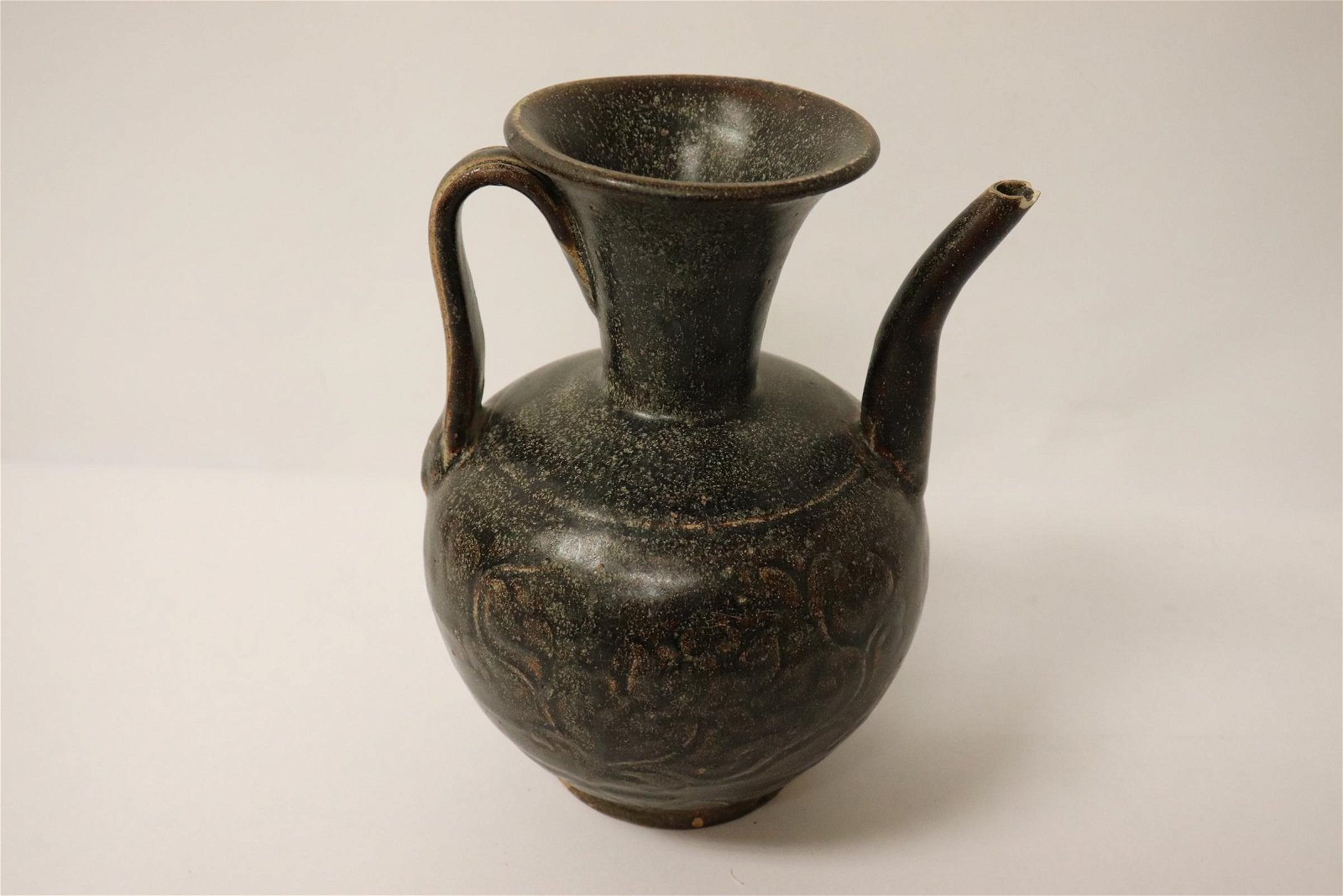 A Song style brown glazed wine server