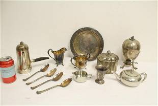 Lot of misc silverplate pieces