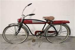 A beautiful vintage art deco Roadmaster bike
