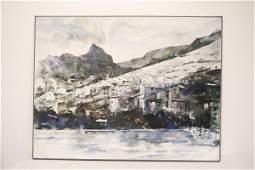 Large oc painting by Balcomb Greene