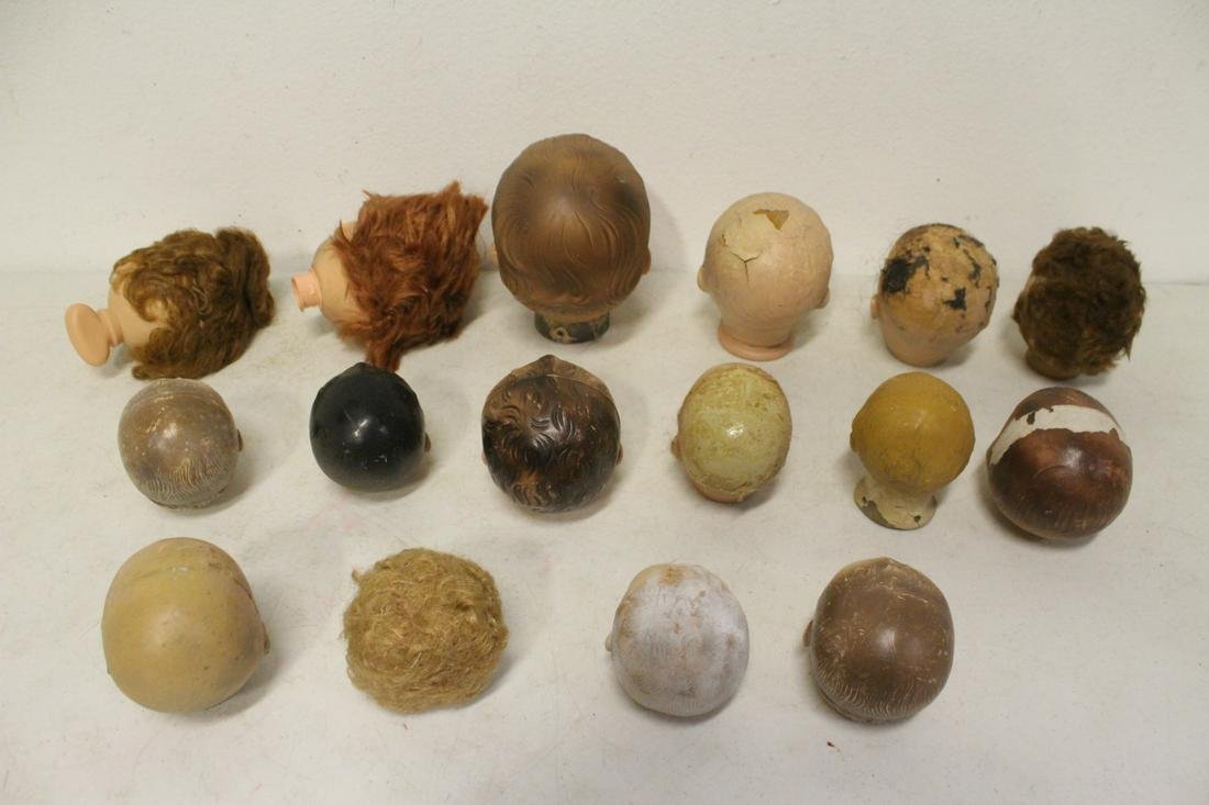 Lot of antique doll bodies