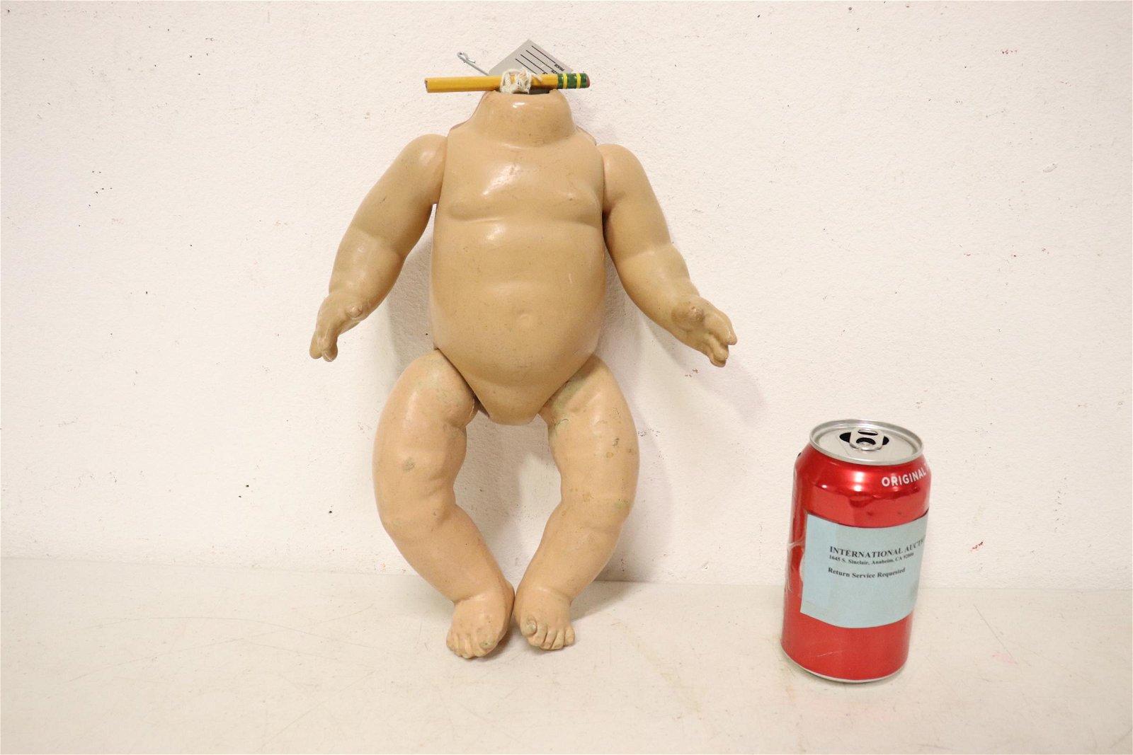 Antique doll body