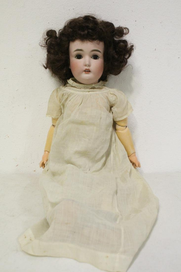 Antique German bisque head doll