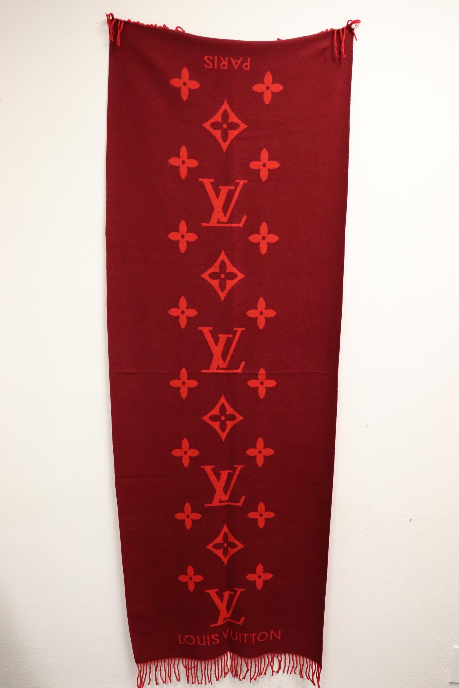 A Louis Vuitton scarf