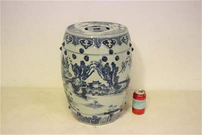 A highly important Chinese antique porcelain stool