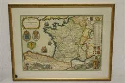 A vintage map