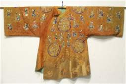 Antique Chinese embroidery robe