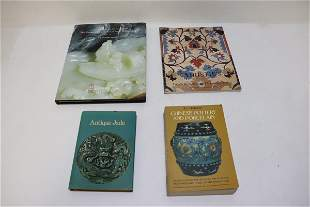 3 antique reference books, & a Christie's catalogue