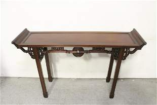 A fine Chinese rosewood altar table
