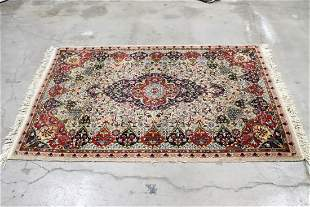 A beautiful vintage Persian area rug