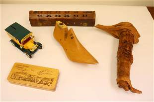 5 piece wood carvings