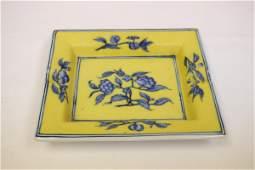 Unusual Chinese vintage porcelain brush wash
