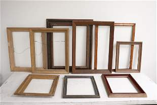 9 picture frames