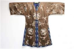 Vintage Chinese embroidery robe