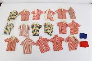 Over 15 Ken doll 60's zebra bathing/ swimming suit