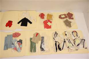 Lot of 60's Ken doll clothing