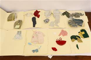 Lot of 60's Ken/ Barbie/ skipper clothing