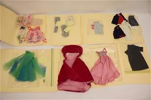Lot of 60's Barbie/ Skipper clothing