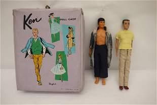 1960 Ken doll w/ box and a Ken doll