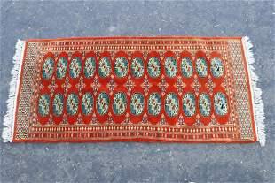 Small Persian handmade wool rug