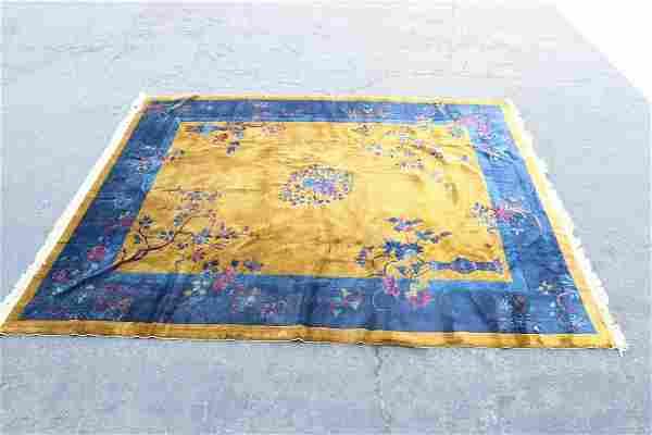 A palace size Chinese Peking rug