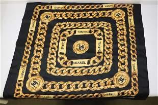 A Chanel scarf