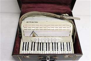 Art deco accordion