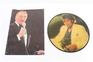 A Michael Jackson record & a Frank Sinatra magazine