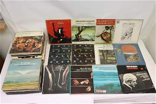 Approx. 80 LP; mostly classic