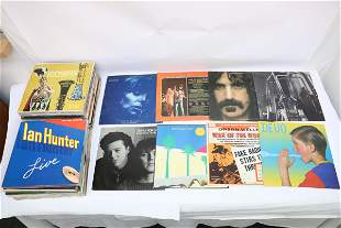 Approx. 80 LP; rock, jazz, classic, etc