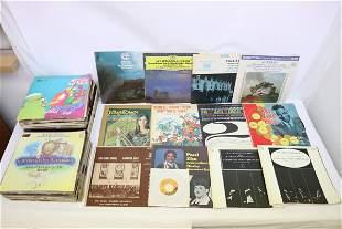 Approx. 80 LP; rock, classic, etc
