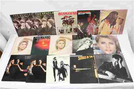 Approx. 20 LP; Beatles, Billy Joel, and more