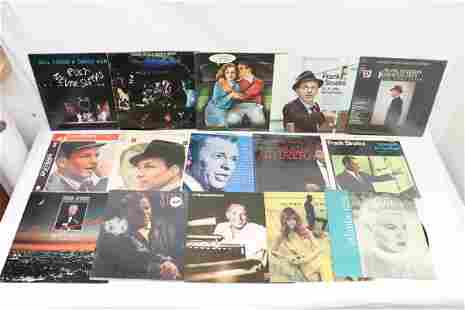 Approx. 20 LP, frank Sinatra and others