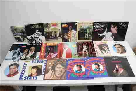 Approx. 20 LP, Elvis