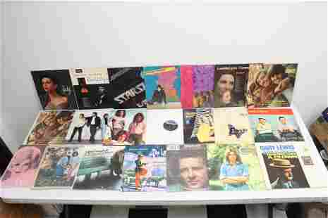 Approx. 20 LP, rock n roll, country, etc