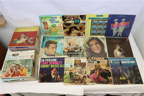 Approx. 80 LP; rock, jazz, country, etc