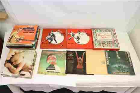 Approx. 80 LP; rock, swing, jazz, etc