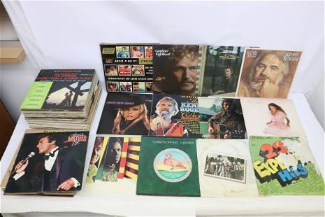 Approx. 80 LP; rock, jazz, classic, soul, etc