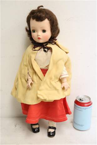 A vintage American girl doll