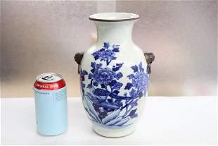 Chinese 19th/20th century porcelain vase